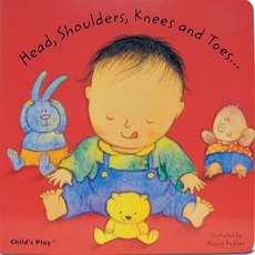 Head, Shoulders, Knees and Toes Book Cover