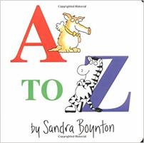 A to Z Book Cover